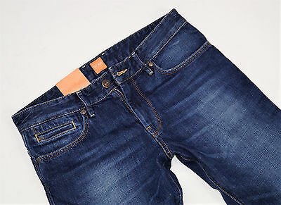 NEU - Hugo Boss Orange 24  FAIR - Blue Denim Regular Straight Fit - Herren Jeans