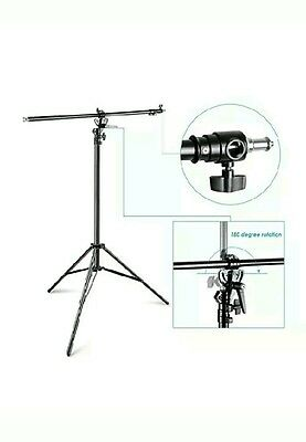 /5%   Neewer 13ft two way tripod boom light stand with sand bag
