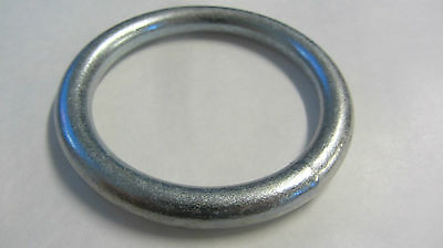 "WELDED METAL O RINGS 2.1/2"" - 65mm PLATED FINISH  22RNG38P"