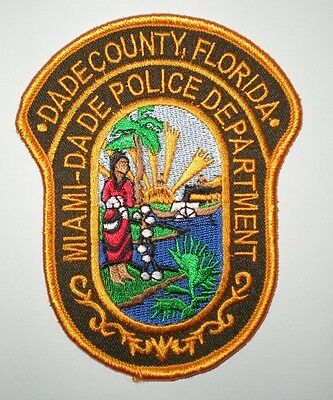 Dade County, Florida Police Department Patch