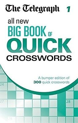 The Telegraph All New Big Book of Quick Crosswords 1 (The Telegraph Puzzle Books