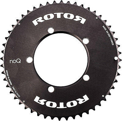 Rotor noQ Aero BCD110x5 54T Outer Chainring Black