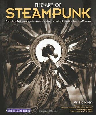 Book : Art of Steampunk by Donovan  Art Paperback New