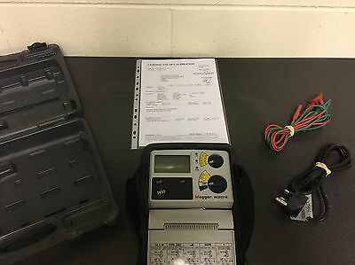 MEGGER RCDT310 RCD TESTER inc CASE & LEADS - FULLY CALIBRATED - FREE POSTAGE
