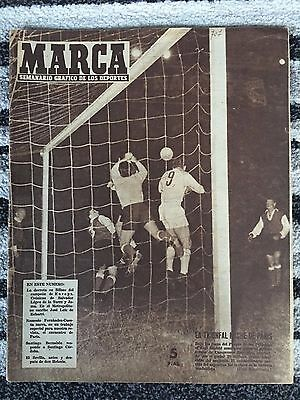 1956 EUROPEAN CUP FINAL Real Madrid v Stade Reims (MADRID MARCA EDITION)