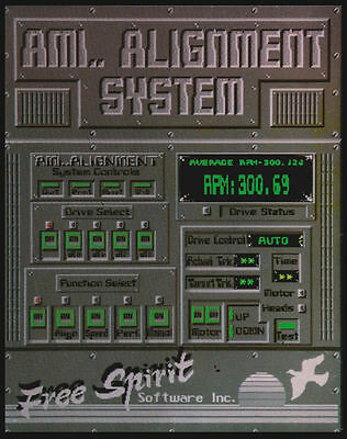 Ami.. Alignment System by Free Spirit Software for Amiga 500 1000 2000