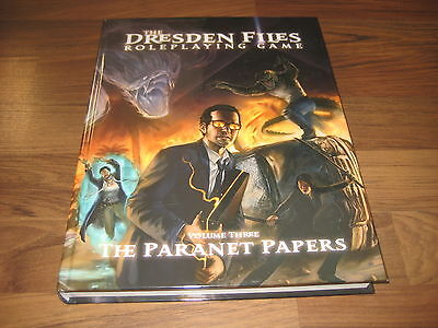 The Dresden Files Roleplaying Game Volume 3 The Paranet Papers HC 2015 Evil Hat