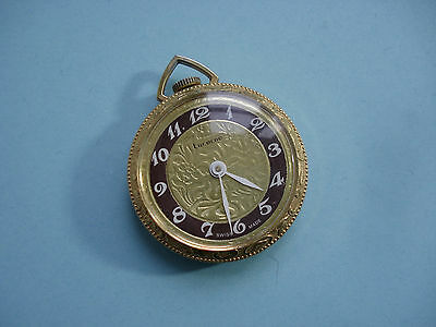 Montre Pendentif LUCERNE Swiss Made - Vintage Pendant Watch