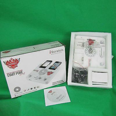 iSCRATCH DJ Scratch Mixer Touch Pad for IPOD SMIRNOFF Promo Headphones Included