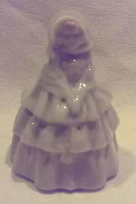Boyd Colonial Glass Lady Figurine Sandpiper