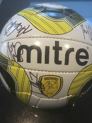 Signed Football - Burton Albion 2016/17 Squad - ALL PROCEEDS TO HELP FOR HEROES