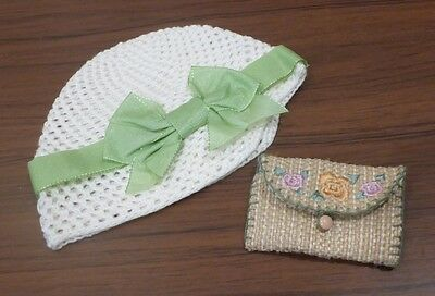 American Girl Kit's Accessories Hat Purse New In Box Authentic Nib