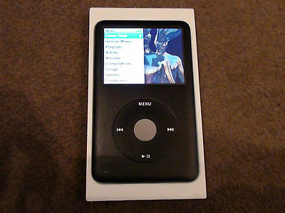 Boxed Apple Ipod Classic 160Gb 7Th Generation Black