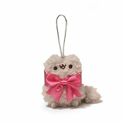 Pusheen Cat Ornament Series 2 3-Inch Surprise Plush - Stormy With Bow