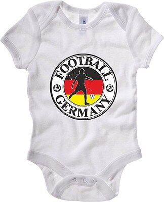 Baby Bodysuit WC0782 GERMANY FOOTBALL LOGO