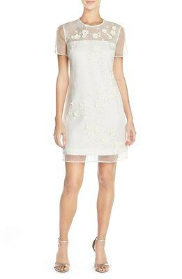 Ted Baker 'Findon' Embellished Silk Organza Dress ( Size 1- 4 US)