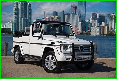2015 Mercedes-Benz G-Class G550 2015 G550 Used 5.5L V8 32V Automatic 4MATIC SUV Moonroof Premium