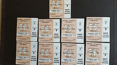 1966 World Cup Ticket Collection