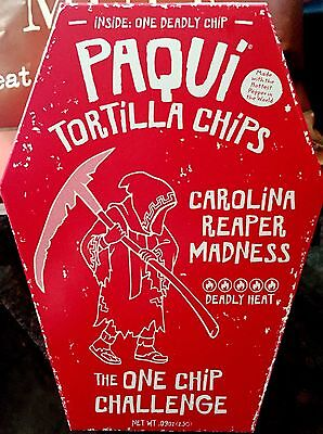 Paqui Carolina Reaper Madness Tortilla Chip (One Chip)