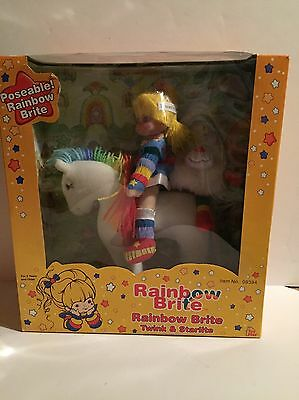 NIB Rainbow Brite And Twink, Starlite Dolls 2003 Hallmark Toy Play Never Opened