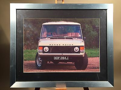 Range Rover 1971 Framed Picture