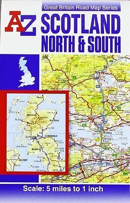 Scotland Road Map by Geographers' A-Z Map Company Sheet map  folded Book New
