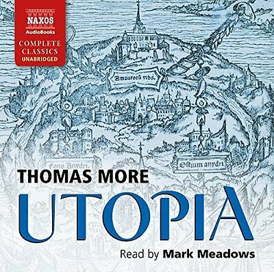 Utopia by Saint Thomas More CD-Audio Book New