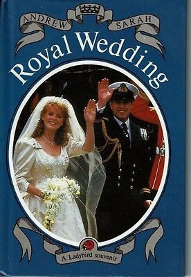 Penguin Royal Wedding Vintage Souvenir Book - Prince Andrew and Sarah 1986
