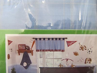 Coco And Company  Little League Boy Baby Window Valance
