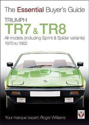 Book : Triumph TR7 and TR8 by Williams  Roger Paperback New