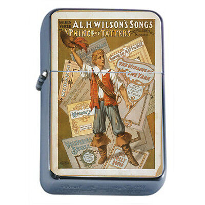 Vintage Poster D103 Windproof Dual Flame Torch Wilsons Song A Prince of Tatters
