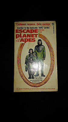 Escape From The Planet of the Apes Paperback Book (1973)