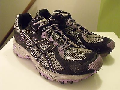 Womens Asics Gel Trabuco 13 Trail Running Shoes / Trainers Size Uk 6.5.