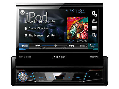 Pioneer AVH-X7700BT  Bluetooth with 7""