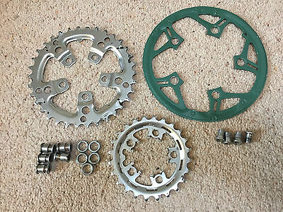 Shimano Chain Rings Stx 5 Hole Sg 1-24 & Sg 1-34 With Bolts