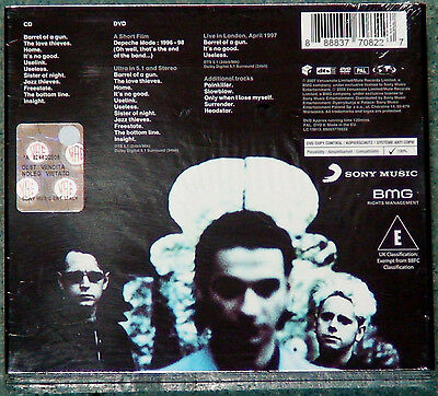 Depeche Mode Ultra Sealed Poland Limited Box Cd Dvd Dts 5.1 Collectors Edition