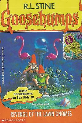 Goosebumps #34 - Revenge of the Lawn Gnomes by R.L. Stine - S/Hand
