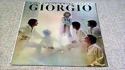 GIORGIO MORODER KNIGHTS IN  WHITE SATIN 1st GALLO South African LP 1976 DISCO
