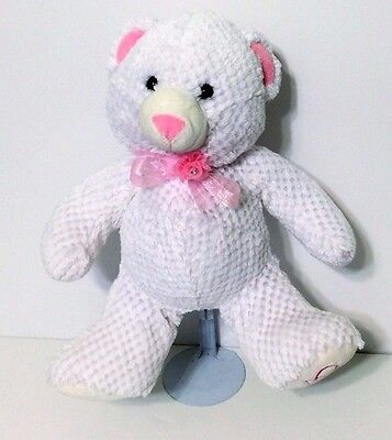White Teddy Bear  Zippidy Kids