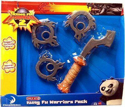 Kung Fu Panda 2 Exclusive Accessory Playset Kung Fu Warriors Pack