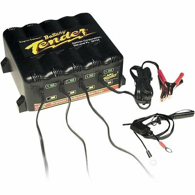 Battery Tender 4 Bank Trickle Charger System 1.25A