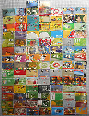 100 All Different Greek Greece various Prepaid Phonecards (Various Companies)