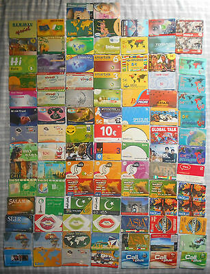 100 All Different Greek Greece various Prepaid Phonecards (Various Companies) #2