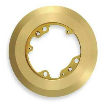 Hubbell S3082 Round Brass Floor Box Carpet Flange QTY 2
