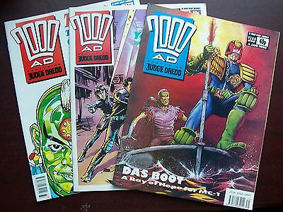 2000Ad Progs For Sale 3 For £1 - All In Ex Condition From Approx 303-1199