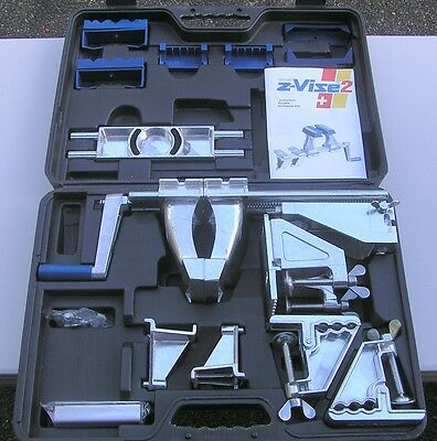 Z-Vise2 Zyliss Portable Clamping System/Vise NEW in Case Free Shipping 48 States
