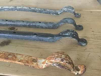Antique/vintage Reclaimed Cast Iron Window Stays