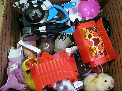 Huge Lot 20+pcs Cepia Zhu Zhu Pets Hamsters Accessories Good-VG Condition #19