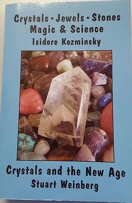 CRYSTALS, JEWELS, STONES, MAGIC and SCIENCE -9780892541713- Isidore Kozminsky