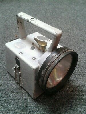 Vintage British Rail 3 colour Bardic lamp/torch